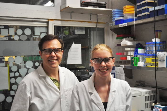 Genspace, Karlijn Sibbel, Michael Flanagan, cellulose protocols, laboratory